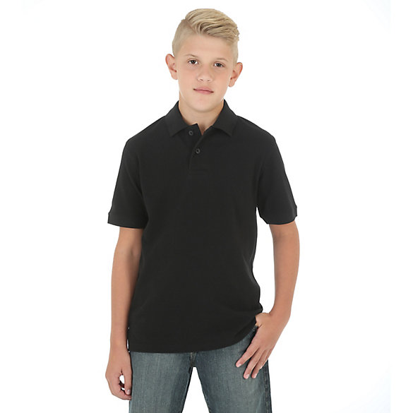 Boy's Short Sleeve Polo