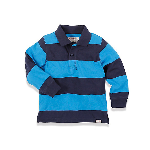 Toddler Boy's Long Sleeve Polo