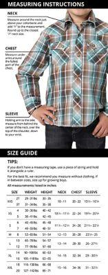 Us men's jacket size chart