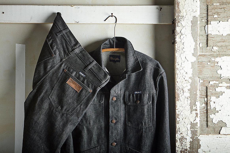 Wrangler® 27406 Men's Selvedge Denim Lined Jacket