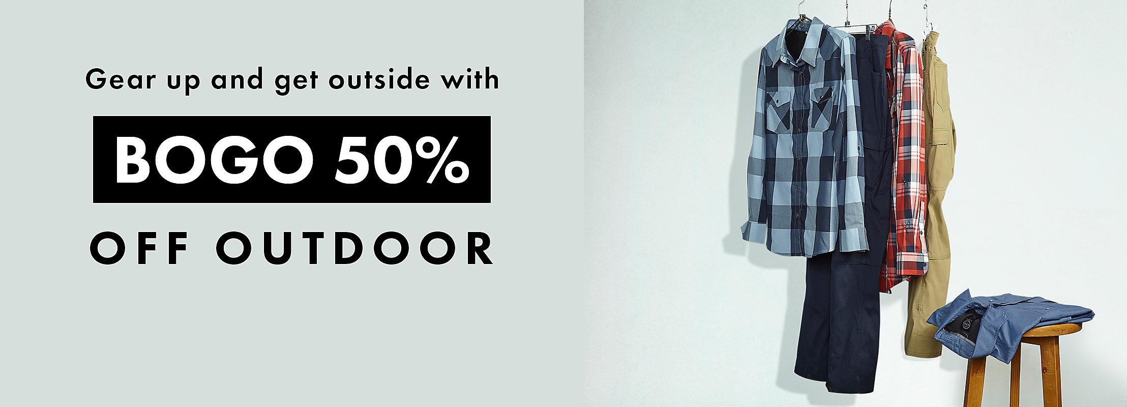 BOGO 50% OFF OUTDOOR | SHOP NOW