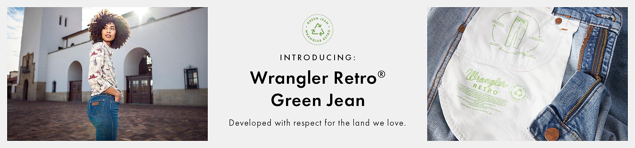 Wrangler Retro® Green Jean