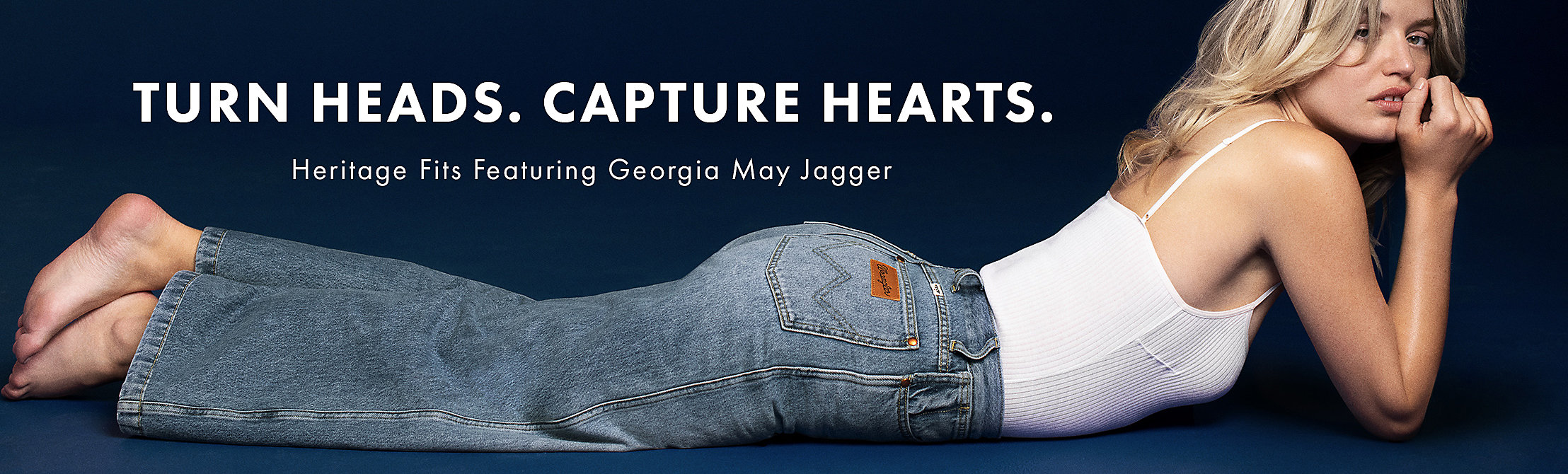 Heritage Fits Featuring Georgia May Jagger | Wrangler