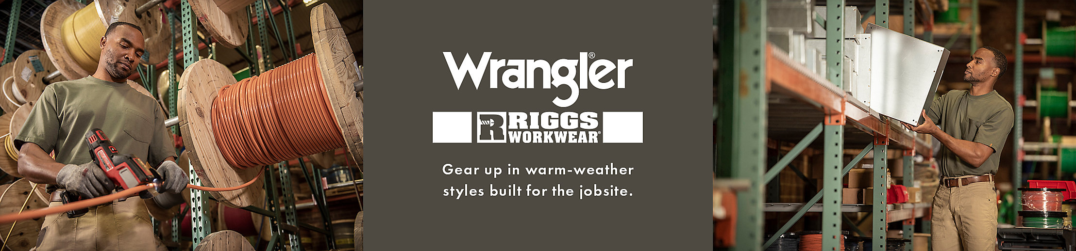 Shop Riggs Workwear by Wrangler