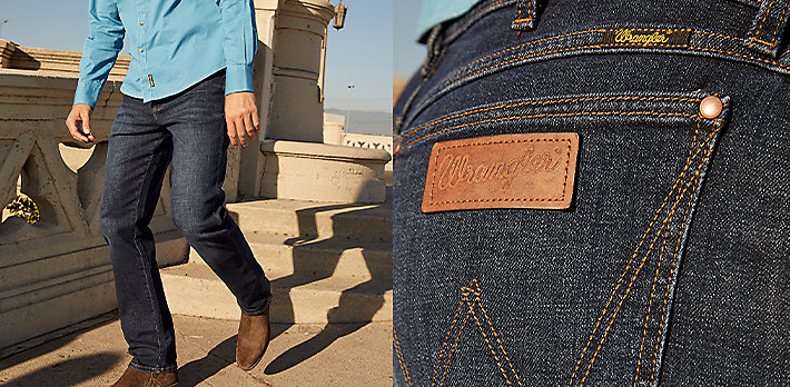 Wrangler Retro® Green Jean | Shop Now