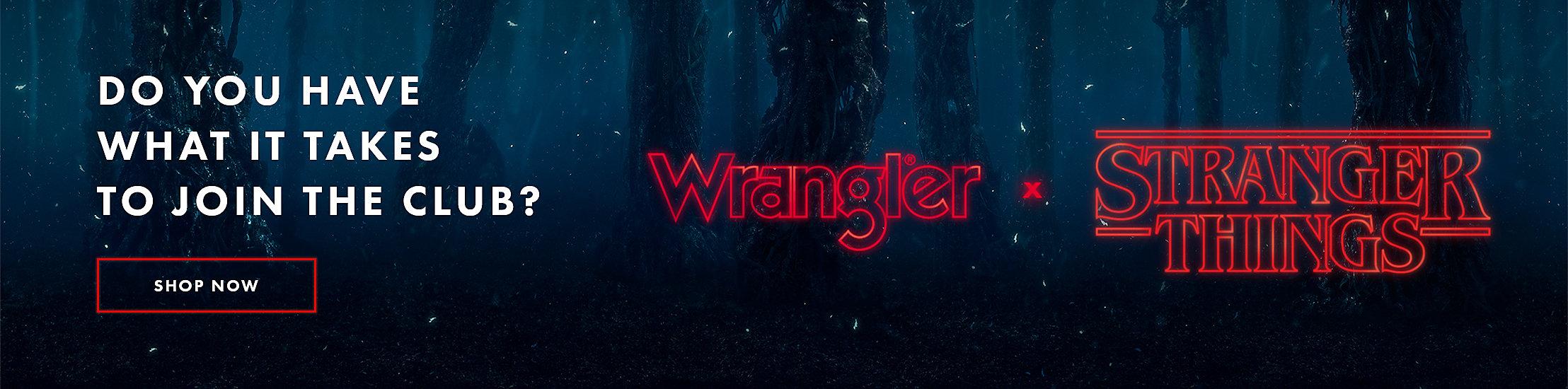 WRANGLER x STRANGER THINGS | SHOP NOW