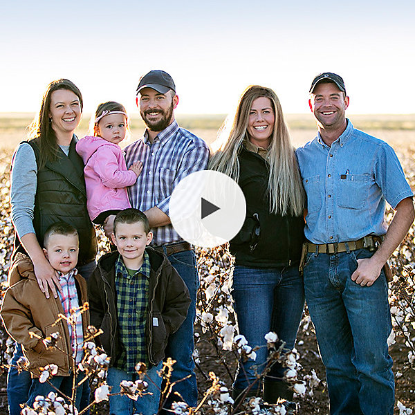Play Video | Vance and Mandie - Texas Cotton Farmers