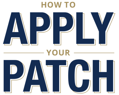 How To Apply Your Patch