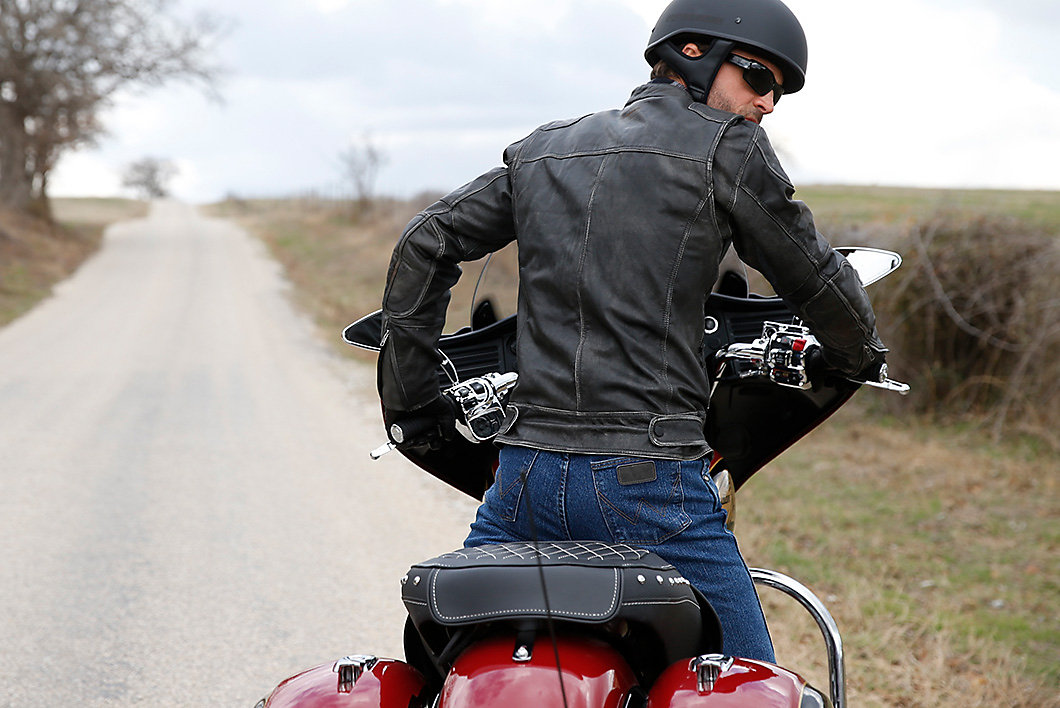 Biker Jeans With Cool Vantage