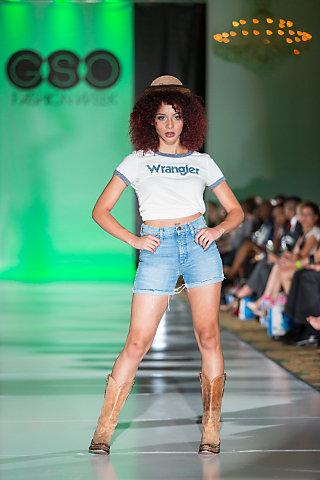 Vintage-Inspired Wrangler Shorts