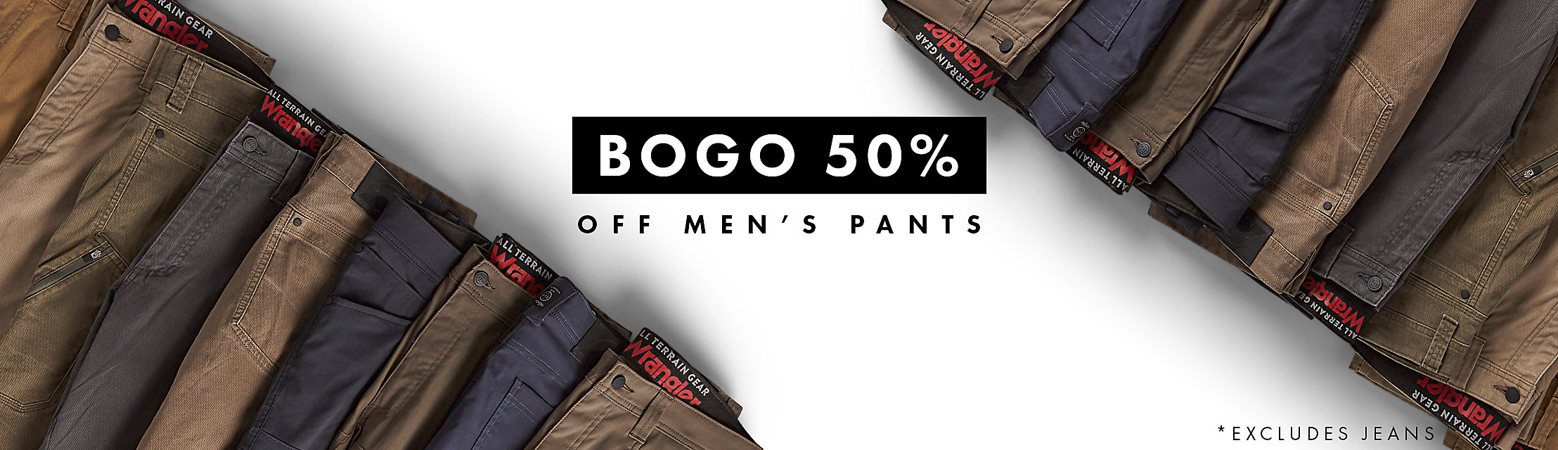 Buy One, Get One 50% Off Men's Pants