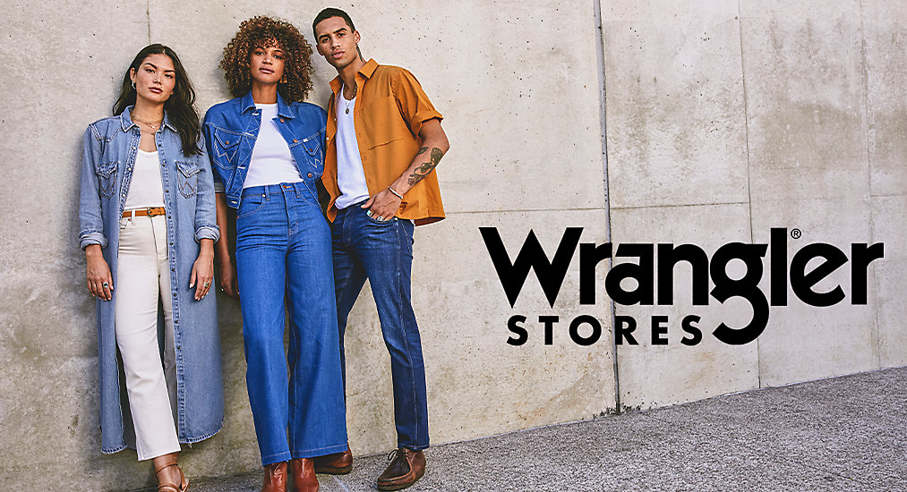 Wrangler Stores | With authentic style woven into each piece, Wrangler® clothing combines quality, craftsmanship and superior design into both long-loved and contemporary looks.
