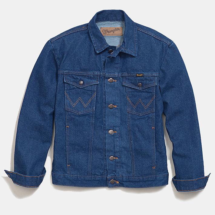 wrangler jean jacket mens