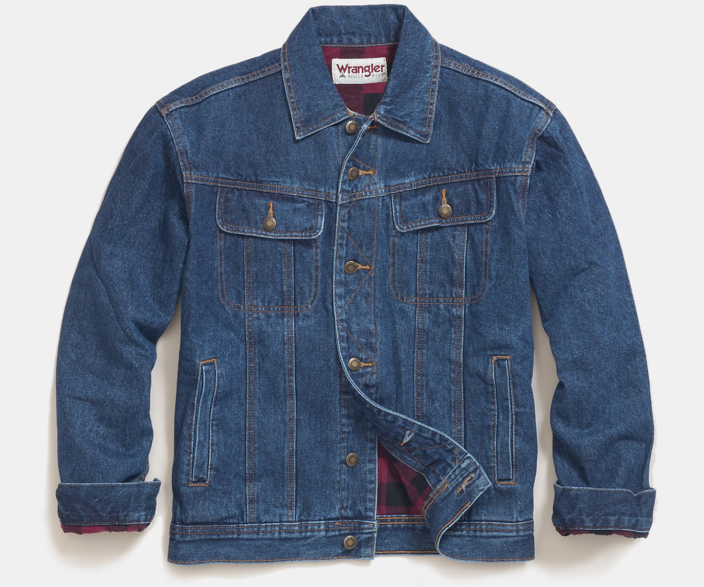 Men's Winter Fleece Lined Denim Jackets Warm Jeans Coat with Removable Hood. from $ 39 90 Prime. 4 out of 5 stars 2. Wrangler. Men's Big & Tall Western Style Lined Denim Jacket $ 63 75 Prime. 4 out of 5 stars Made By Johnny. Womens Faux Leather Motorcycle Jacket with Hoodie. from $ .