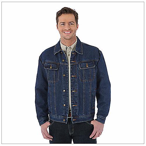 68ee3c52397 Shop All Mens Denim Jackets. RJK32 Wrangler Rugged Wear® Flannel Lined ...
