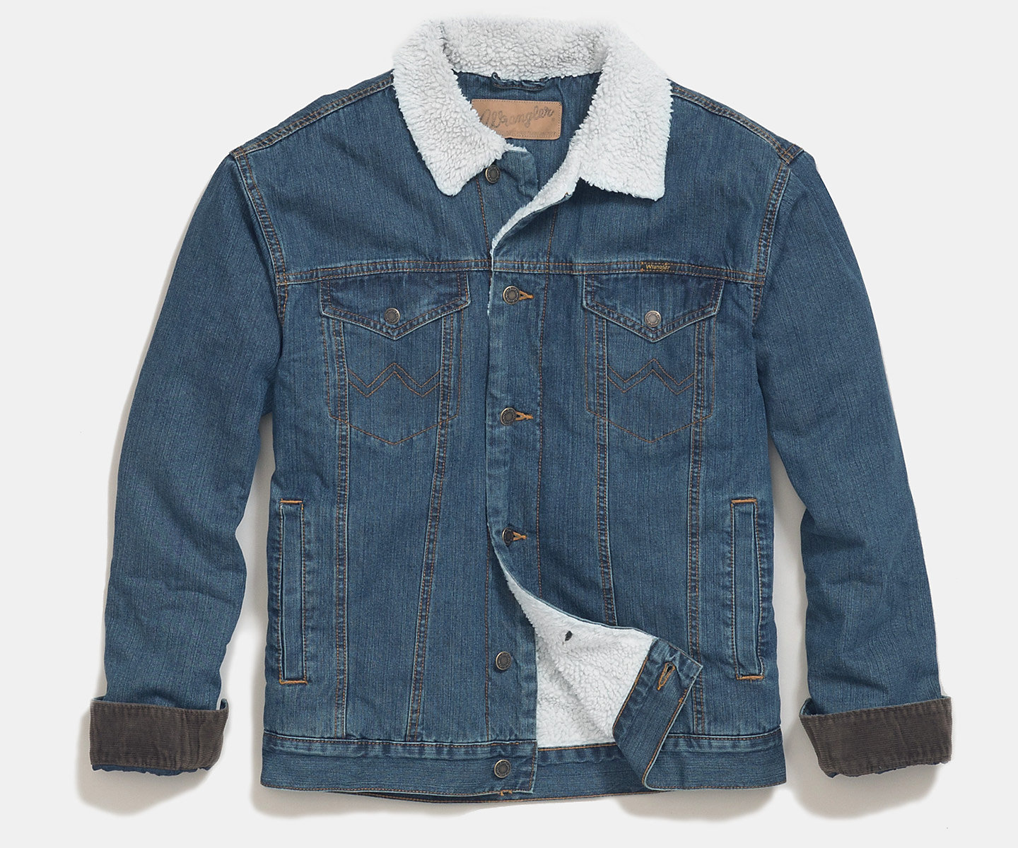 7cc14589ce8f Shop All Mens Denim Jackets. 74256RT Wrangler® Western ...
