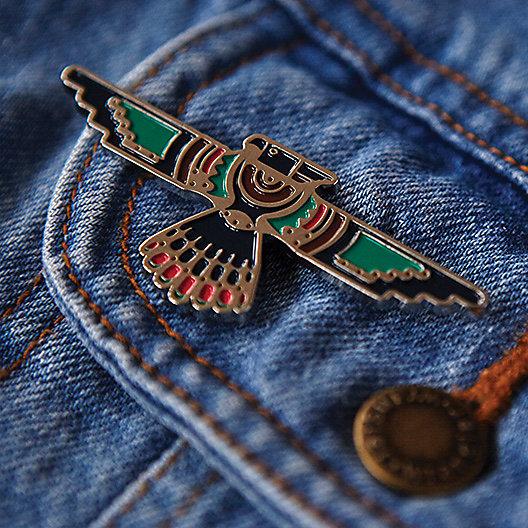 Aztec Eagle Pin
