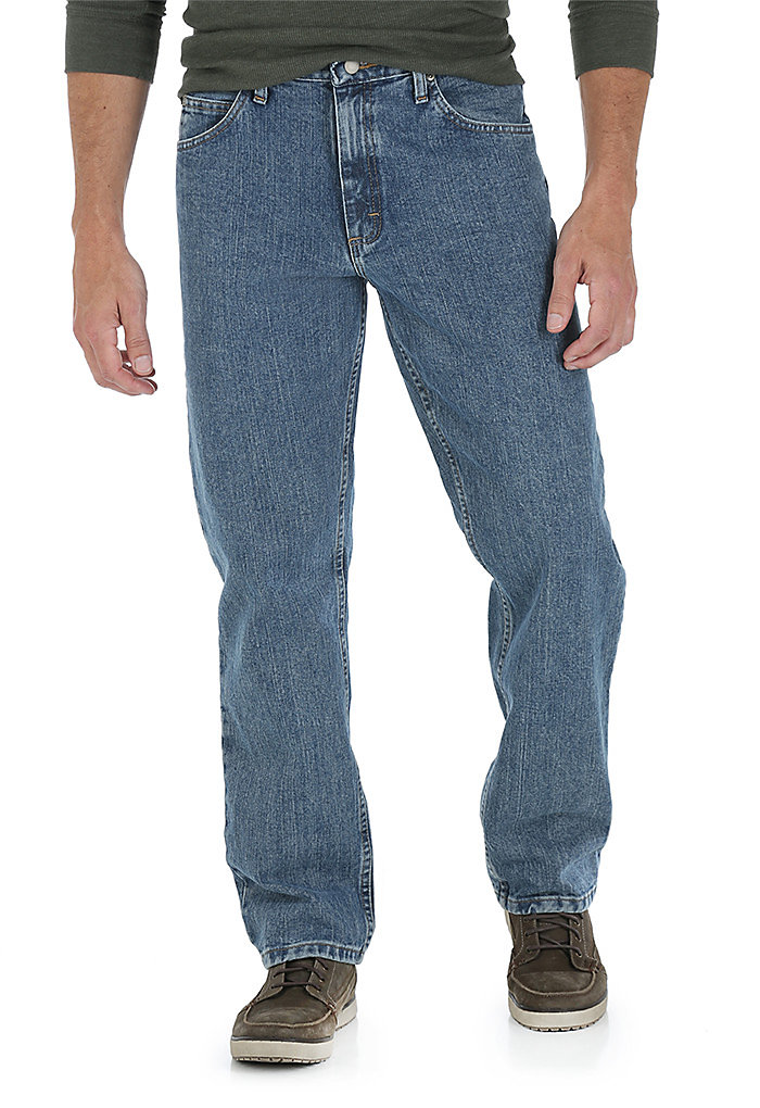 54286125 Mens Jeans Fit Guide | Relaxed Fit | Wrangler