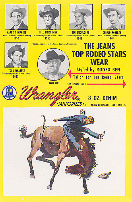 Wrangler Patch Advertisment