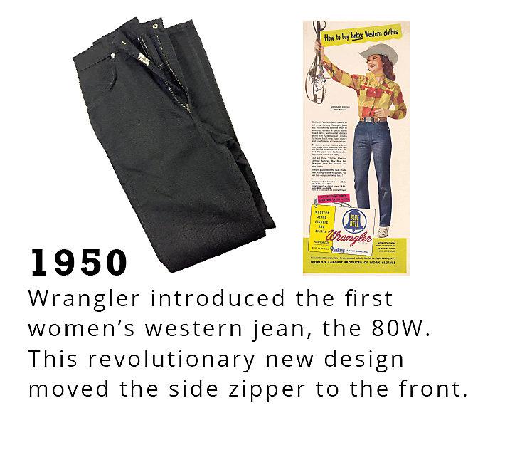 Rodeo Timeline 1950 | Wrangler
