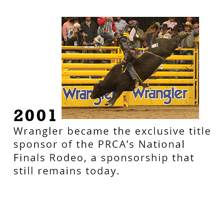 Rodeo Timeline 2001 | Wrangler