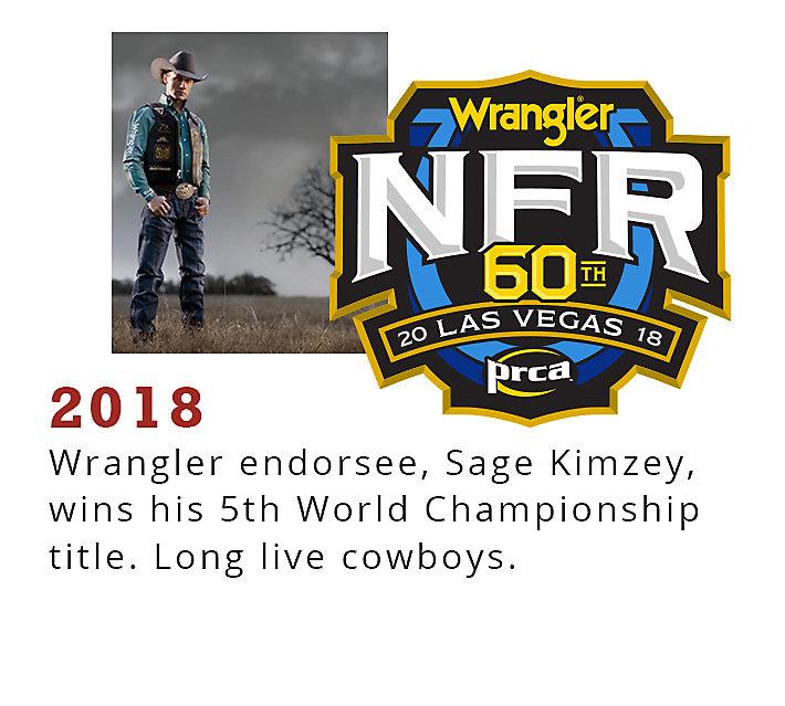 Rodeo Timeline 2018 | Wrangler