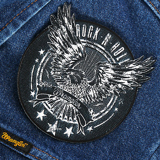 Rock and Roll Eagle Patch